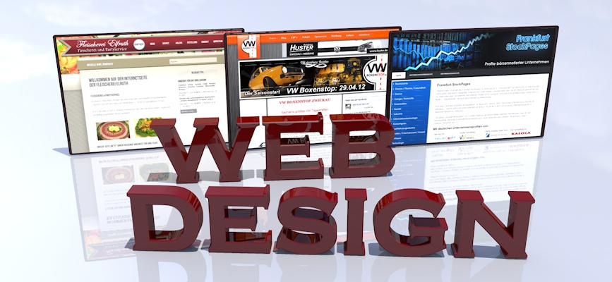 Webdesign und Grafikdesign